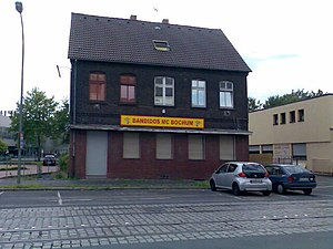Bandidos Motorcycle Club - Bandidos club house in Bochum, Germany