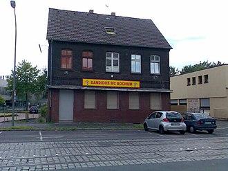 Bandidos Motorcycle Club - Bandidos club house in Bochum, Germany