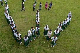 Bangla Wikipedia School Program at Agrabad Government Colony High School (Girls' Section) 54.JPG