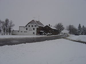 Baraque Michel - Baraque Michel in winter