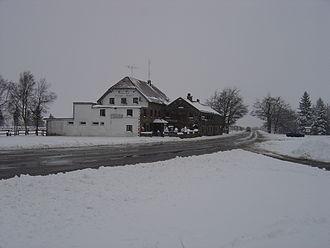 Baraque Michel - Baraque Michel in winter