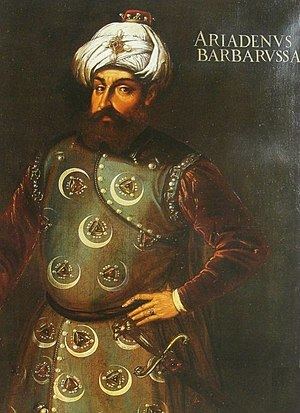 Turks in Algeria - Hayreddin Barbarossa, an Ottoman admiral, was the founder of the Regency of Algiers (Ottoman Algeria).