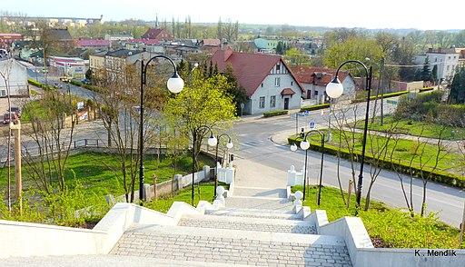 Barcin - widok ze wzgórza św. Wojciecha - panoramio (1)