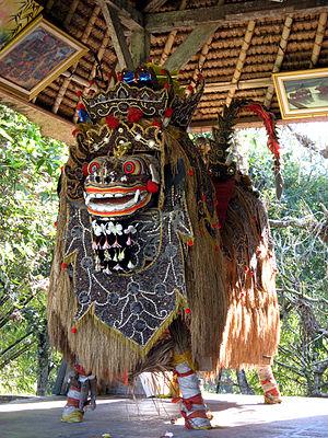Pura Taman Ayun - Image: Barong, Pura Taman Ayun 1501
