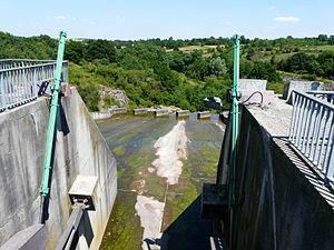 Louin, Deux-Sèvres - The Cébron Dam