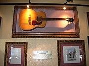 Barrett's first acoustic guitar