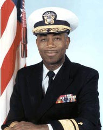 Barry Black - Rear Adm. Barry C. Black, chief of chaplains of the U.S. Navy
