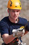 Bartlett Junior ROTC Cadet Tyler Nunez, 15, rappels.jpg