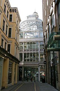 Barton Arcade Victorian shopping arcade in Manchester, England