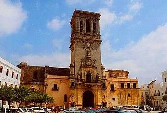 Basílica de Santa María de la Asunción, Arcos de la Frontera - Image: Basílica de Santa María de la Asunción (Arcos de la Frontera)
