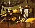 Baschenis, Evaristo, Studio of ~ Still Life with Musical Instruments, undated, oil on canvas, Wallraf-Richartz-Museum, Cologne.jpg