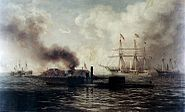 Battle of Mobile Bay (1890) by Xanthus Smith (cropped)