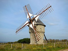 Moulin vent wikip dia - Moulin de la borderie ...