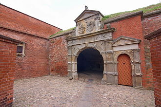 Dömitz Fortress - The main gate of Dömitz Fortress