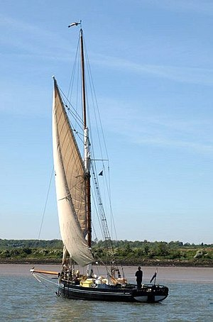Bawley - Image: Bawley Doris lo 284 from Leigh, built by john cann at Harwich