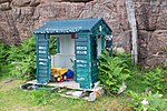 Beach club shed, Achvraie, Scotland.jpg