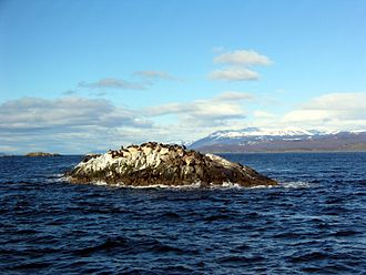 Beagle Channel - Image: Beagle Channel La Isla de Los Lobos