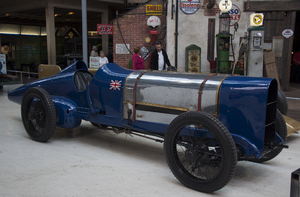 Kenelm Lee Guinness - Sunbeam driven to Land Speed Records by Guinness and as Blue Bird Malcolm Campbell