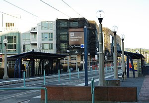 Beaverton Central MAX station - Beaverton, Oregon.JPG