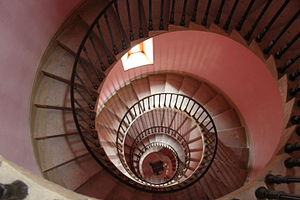 Beckford's Tower - The spiral staircase