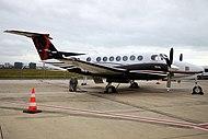 Beechcraft Super King Air B350 (31378959748).jpg