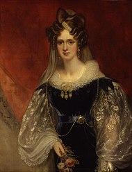 Königin Adelaide (Gemälde von William Beechey, 1831) (Quelle: Wikimedia)