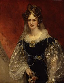 Queen Adelaide in her late 30s