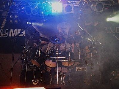 Infero podczas występu na The Apostasy Tour w roku 2007