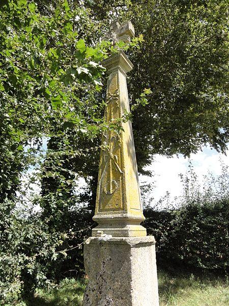 Behonne (Meuse) Croix de chemin