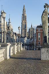 Antwerpen wikipedia for Ales code postal