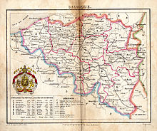 Belgium In The Long Nineteenth Century Wikipedia - Belgium political map 2001