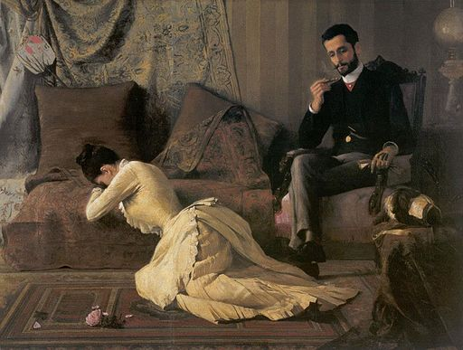 Belmiro de Almeida - Arrufos, 1887