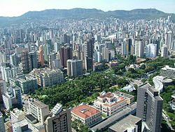 View of Belo Horizonte