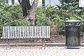 Bench in Finland 048, Lohja, Keskusaukio 1.jpg