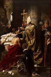 Gyula Benczúr: The Baptism of Vajk