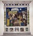 Benedetto Buglioni, Natività con santa Caterina di Alessandria e san Vivaldo 01.jpg