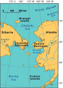 Pennsula De Chukotka  Wikipdia A Enciclopdia Livre