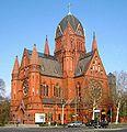 Berlin, Kreuzberg, Zossener Strasse, Kirche zum Heiligen Kreuz.jpg