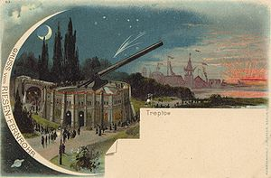Archenhold Observatory - The Great Refractor at the Great Industrial Exposition of Berlin 1896