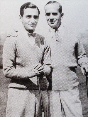Irving Berlin (left) and Al Jolson, c. 1927 Berlin-Jolson27.JPG