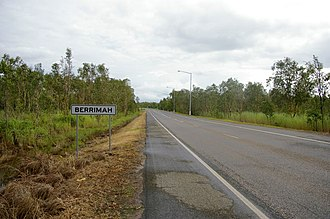 Berrimah, Northern Territory - Amy Johnson Avenue, Berrimah