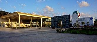 Bibliothèque Nationale du Royaume du Maroc - Image: Bibliothèque Nationale du Royaume du Maroc