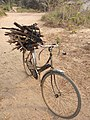 Bicycle (locally called High jack, long john, white horse).jpg