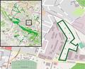 Bielefeld - NSG Auf dem Kort - Map.png