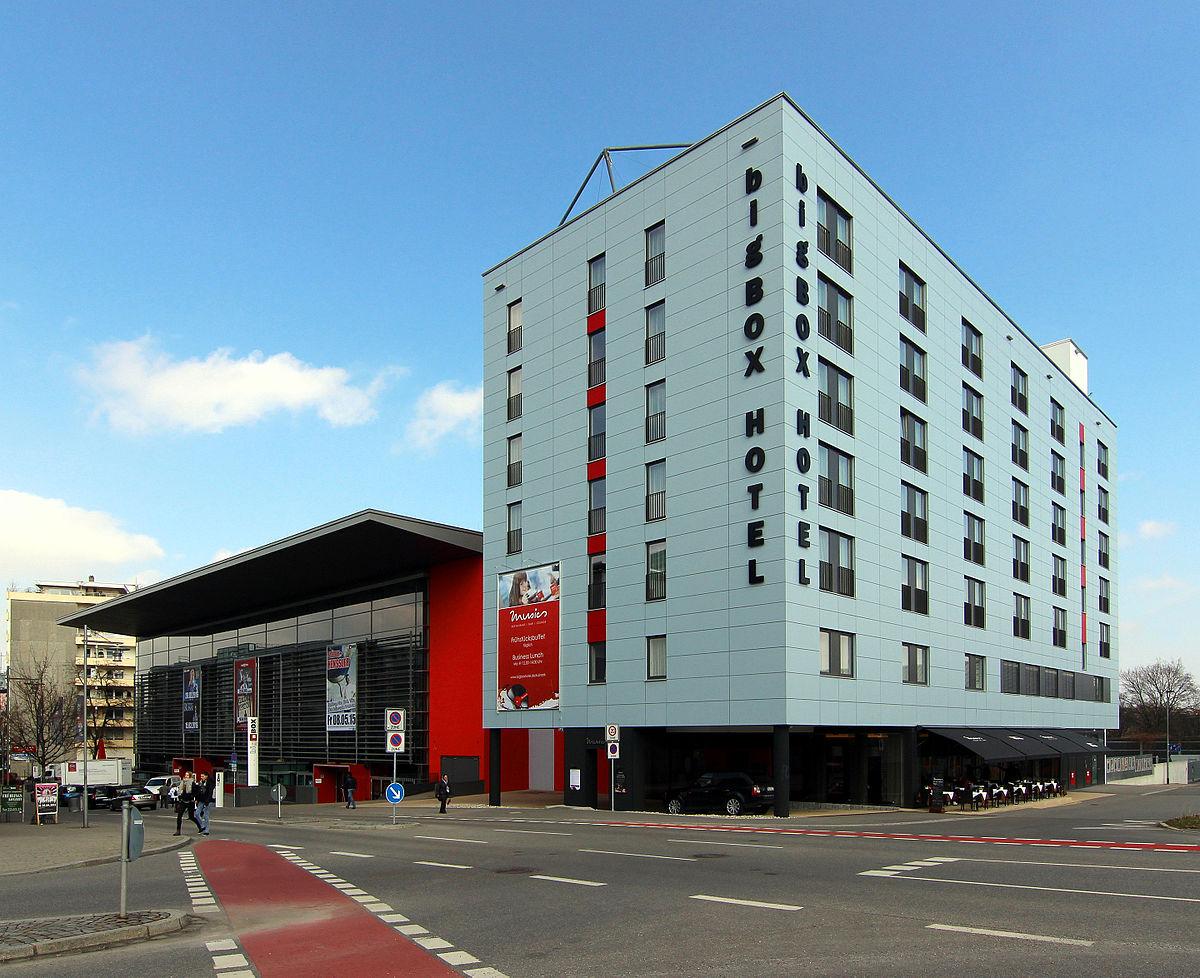 Bigbox allg u wikipedia for Big box hotel bomonti