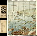 Bird's eye view of Boston Harbor and South Shore to Provincetown - showing steamboat routes. LOC 2008624058.jpg