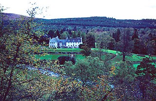 Birkhall estate on Royal Deeside, Aberdeenshire, Scotland