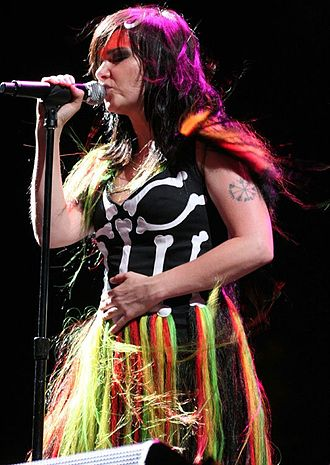 Evanescence (Evanescence album) - Lee cited Björk (pictured) as an influence on Evanescence.