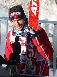 Bjørn Einar Romøren Norwegian ski jumper