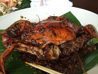 Black pepper crab - Black pepper crab